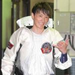 レース後笑顔を見せるみね竜太選手